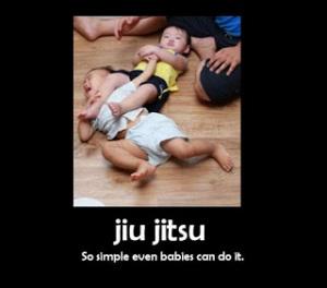 Baby Jiu Jitsu