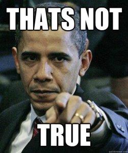 obama not true