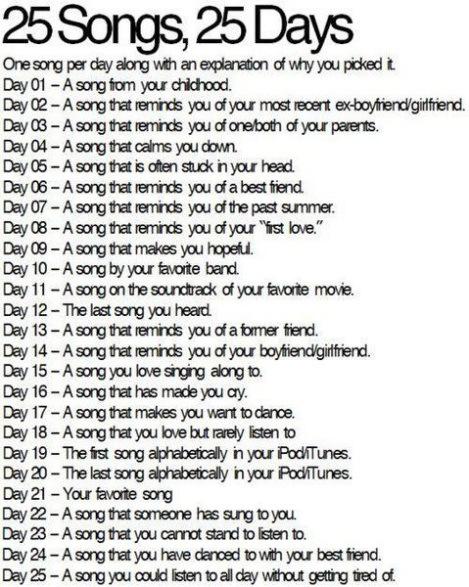 25-songs-25-days