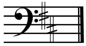 D_major_on_bass_clef