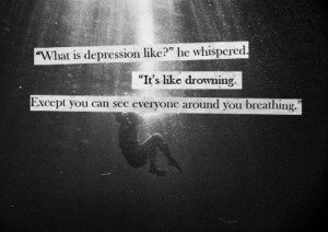 Depression-Drowning