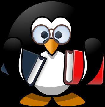 Penguin-Bookworm