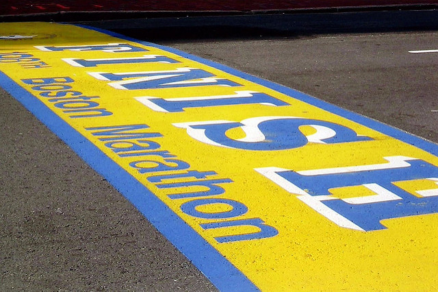 finish line boston
